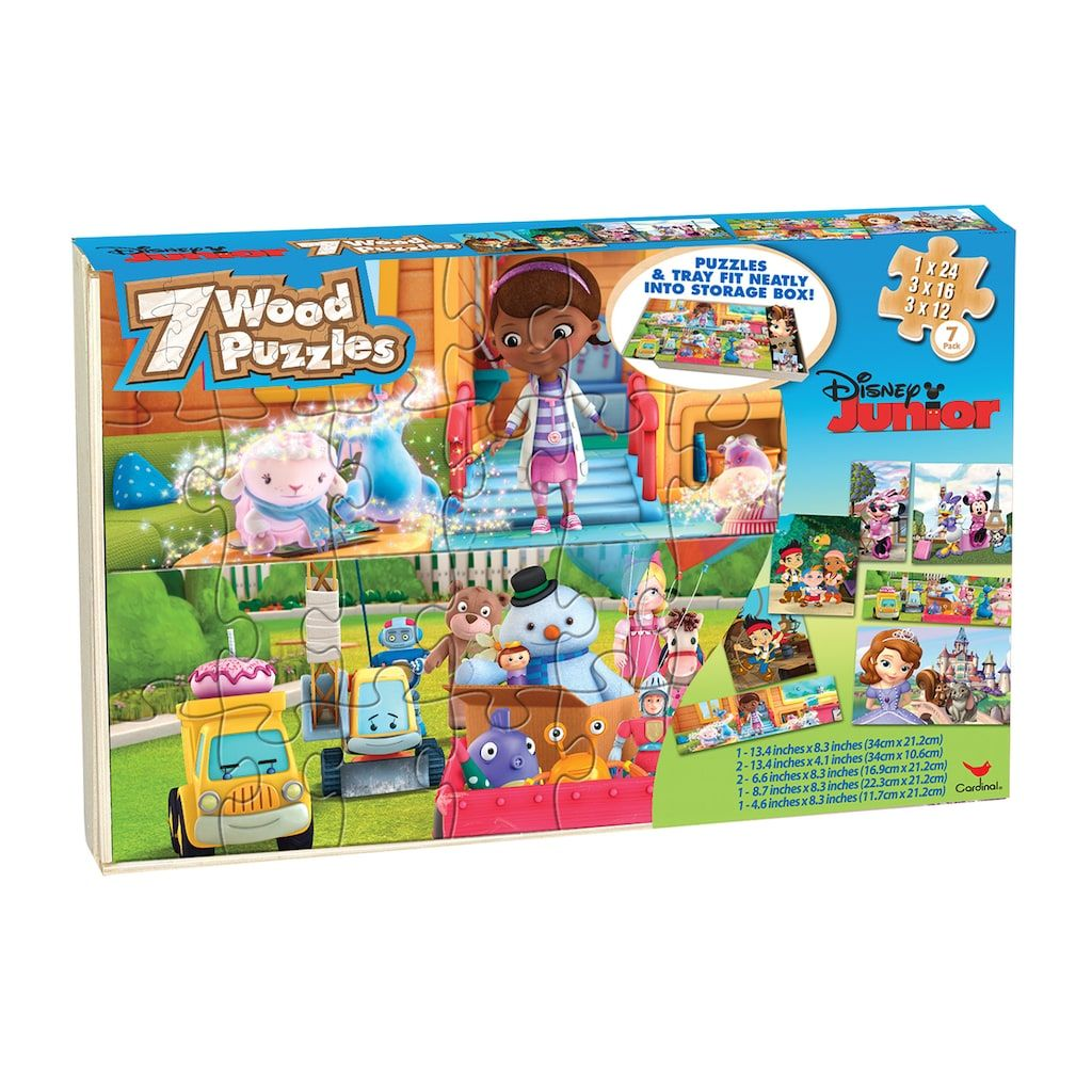 Disney Junior Wood Puzzle Set [Sofia