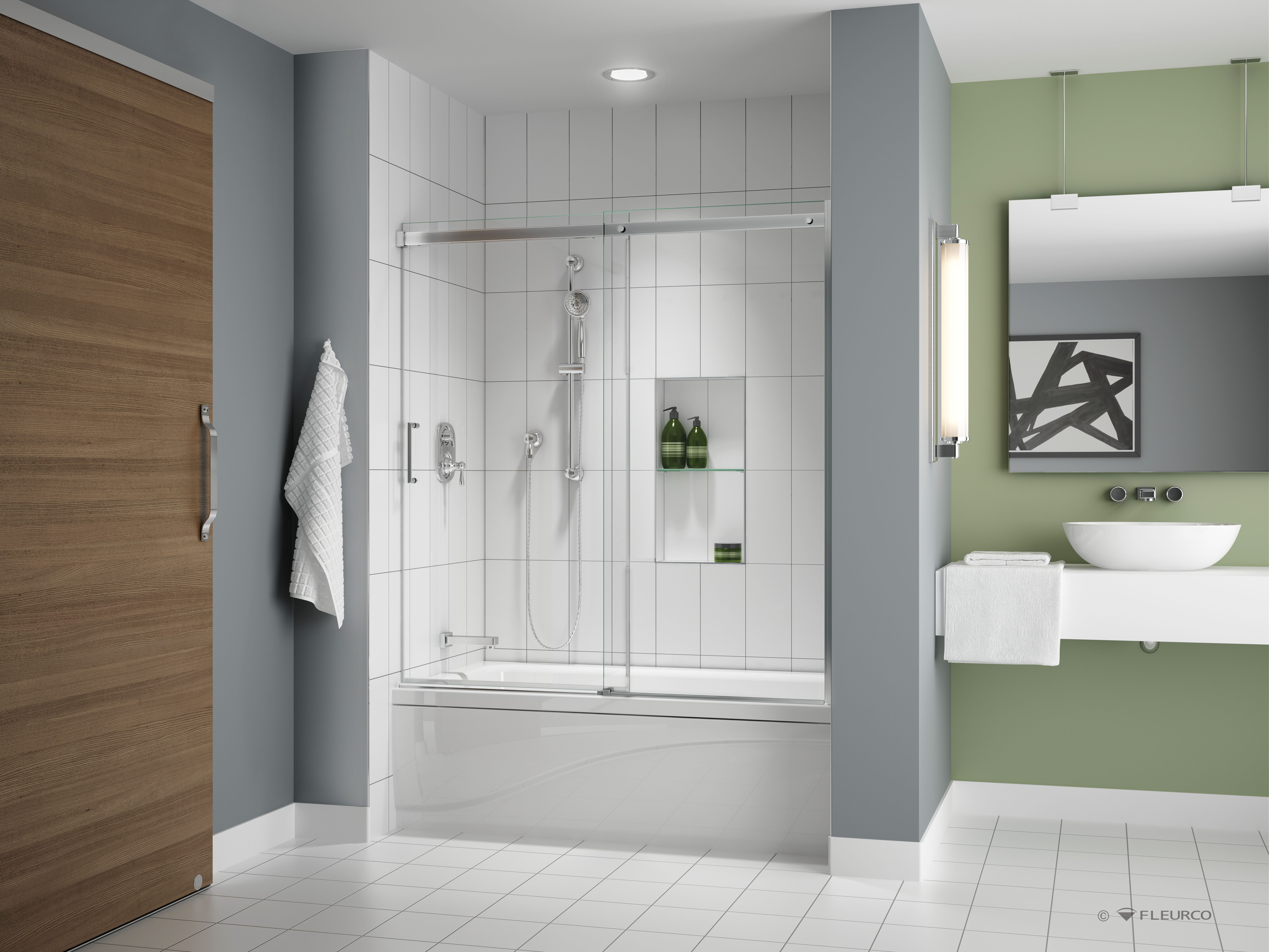 APOLLO Tub Shower Door By FLEURCO