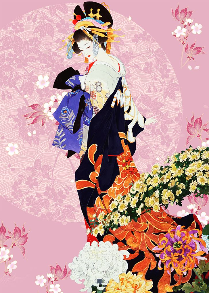 jeune fille japonaise dessinage pinterest jeunes filles japonaises fille japonaise et. Black Bedroom Furniture Sets. Home Design Ideas