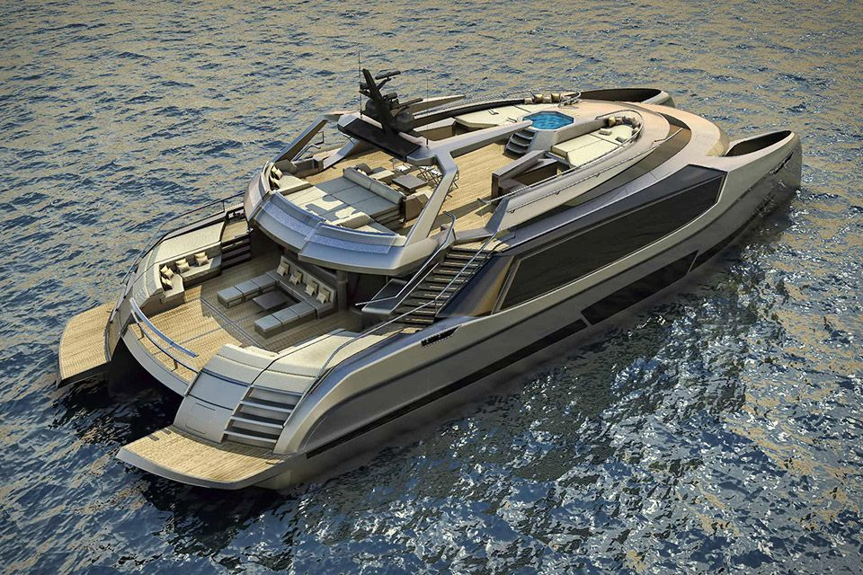 Ego Superyacht Catamaran Avec Images Voiliers Catamarans