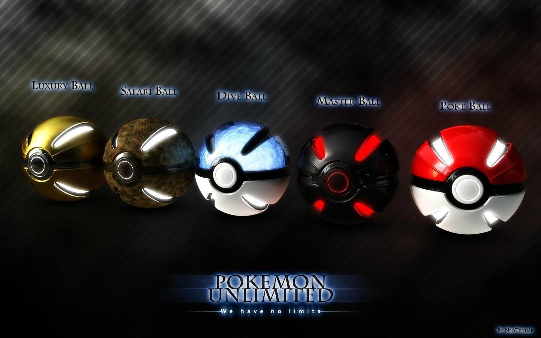 3D Pokeball Wallpaper