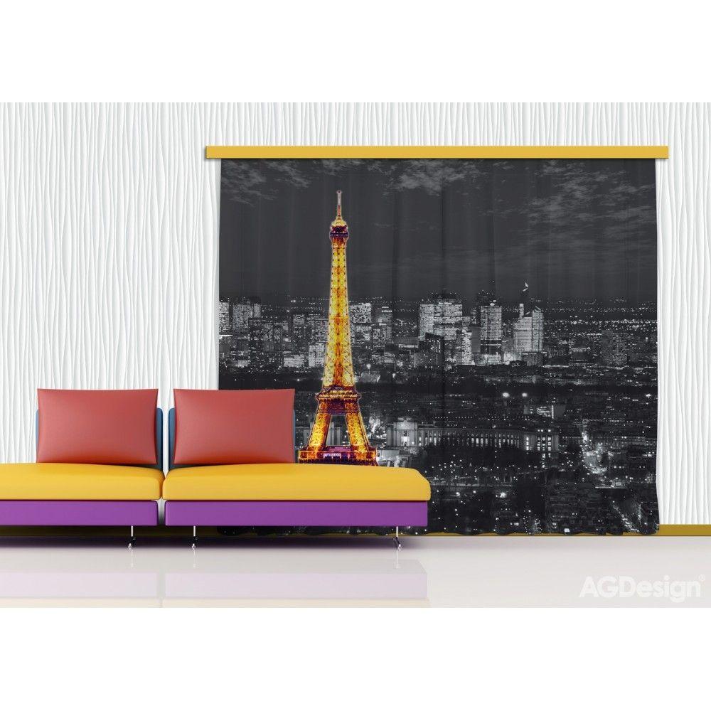Párizs, Eiffel torony függöny nappaliba, hálóba #függöny # ...