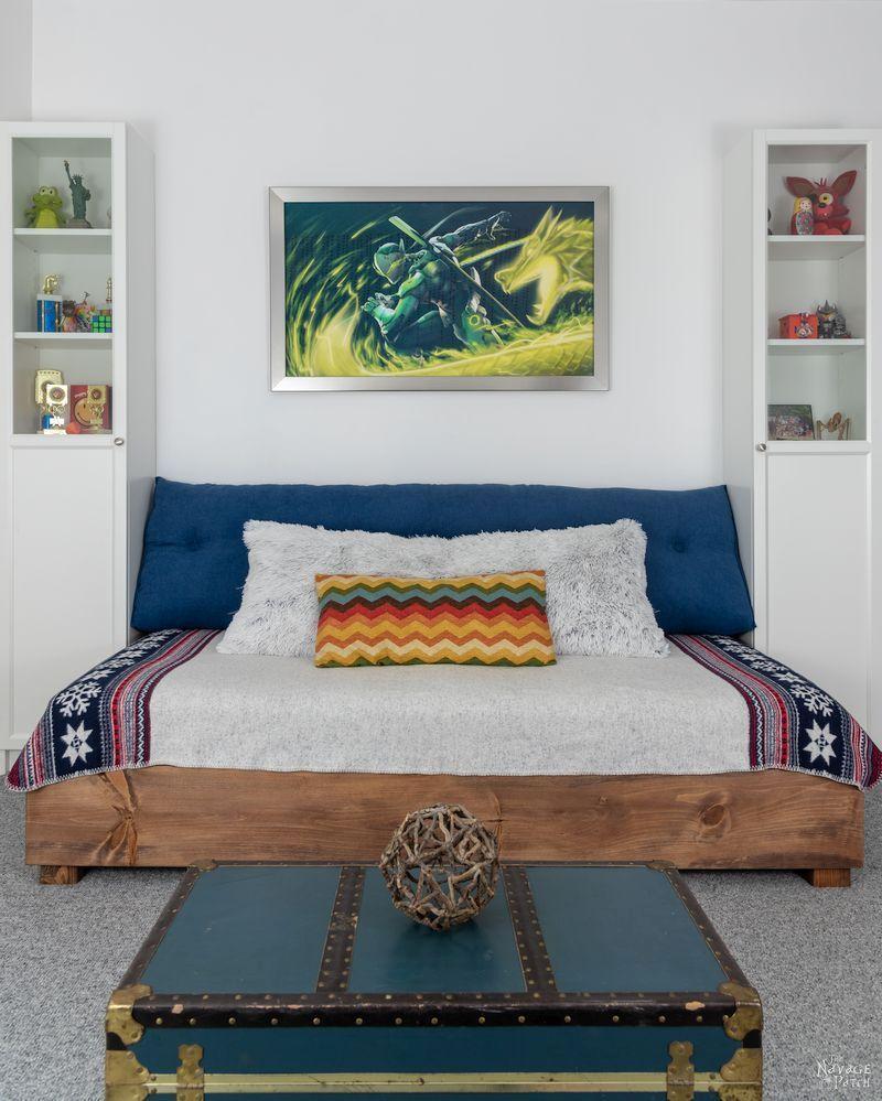 Diy Daybed In 2020 Diy Daybed Diy Twin Bed Diy Bed Frame