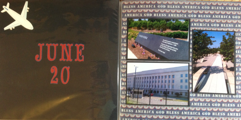 Vietnam scrapbook ideas - Scrapbook Washington Dc 2012 Pentagon 9 11 Memorial