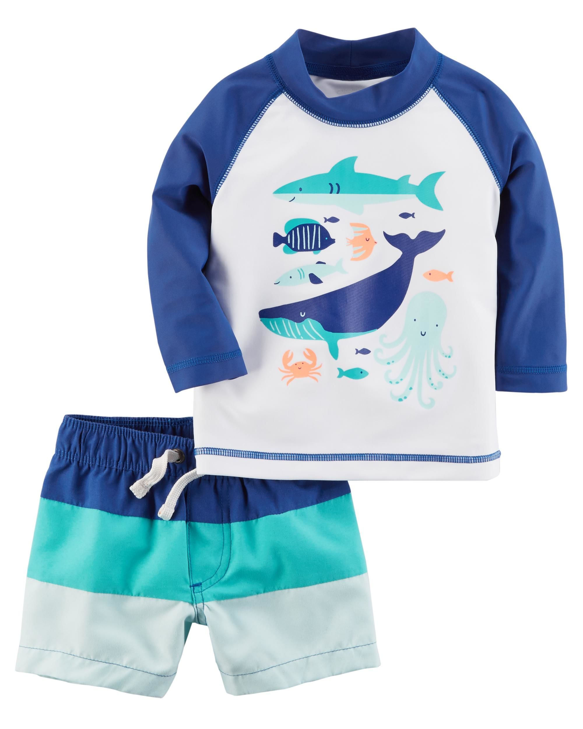 b8d321e86c 2-Piece Rashguard Set | pregnancy ‍‍and baby room | Baby boy ...