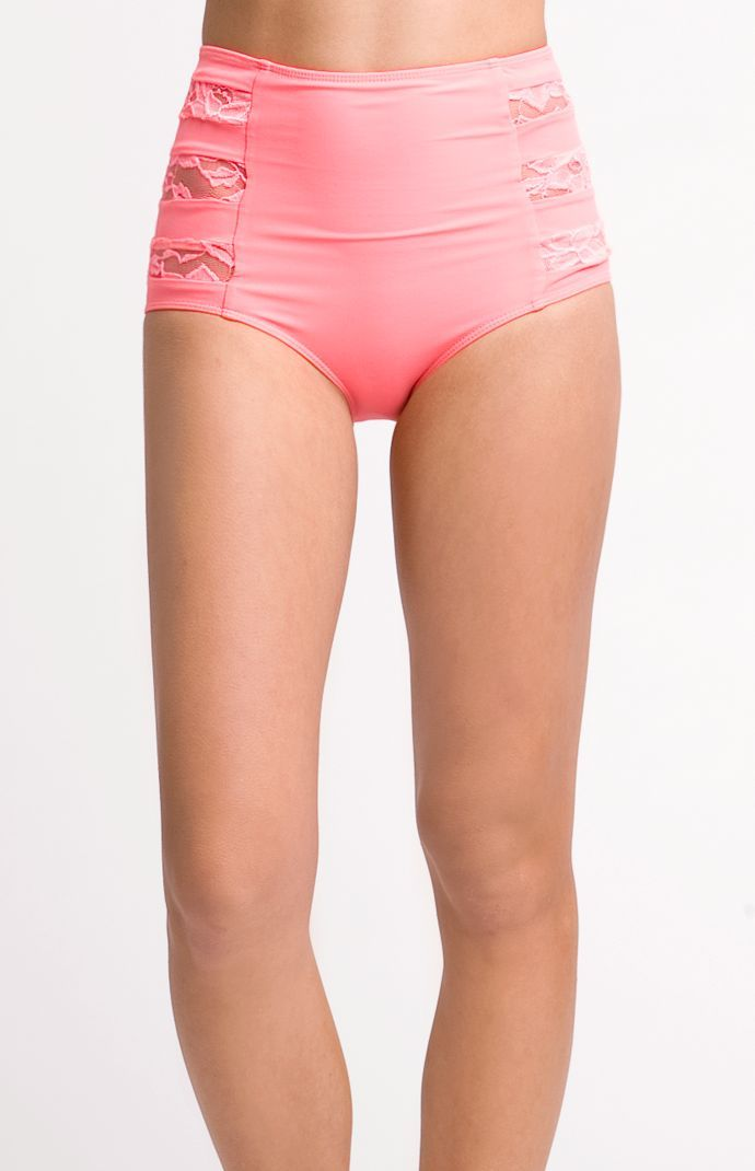 Womens Kandy Wrappers Swimwear - Kandy Wrappers For PacSun High Waisted  Bottom 23799a6f22f5