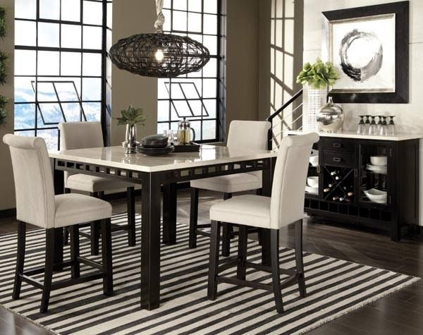 Standard Gateway White Dinette 17460 Extra Thick Square Legs