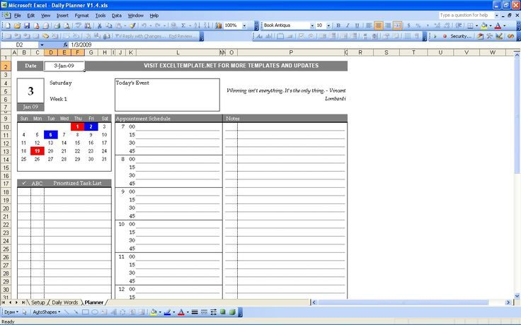 excel templates to check out daily planner 1 daily planner school