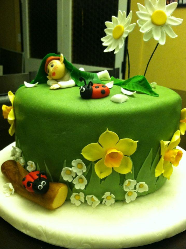 Elf Fondant Cake - Course 3 | Cake decorating tutorials ...