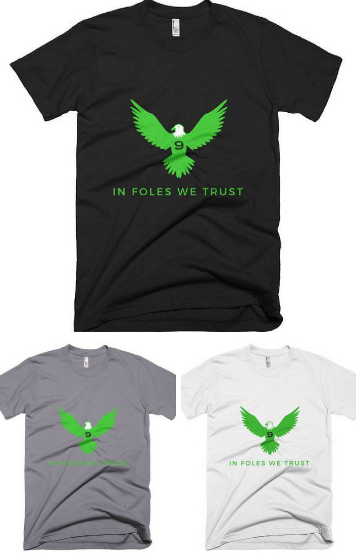 fb8159833c0 Nick Foles In Foles We trust t-shirt #eagles #superbowl #affilitelink  #champions