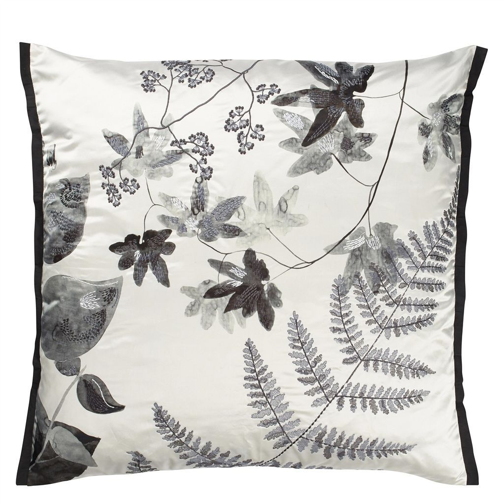 Jindai Graphite Cushion Designers Guild With Images Designers Guild Cushion Design Luxury Home Decor