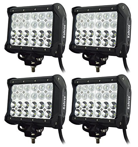 Kohree 7 inch 72w off road led work light bar floodspot combo beam kohree 7 inch 72w off road led work light bar floodspot combo beam 6000 lumen great aloadofball Image collections