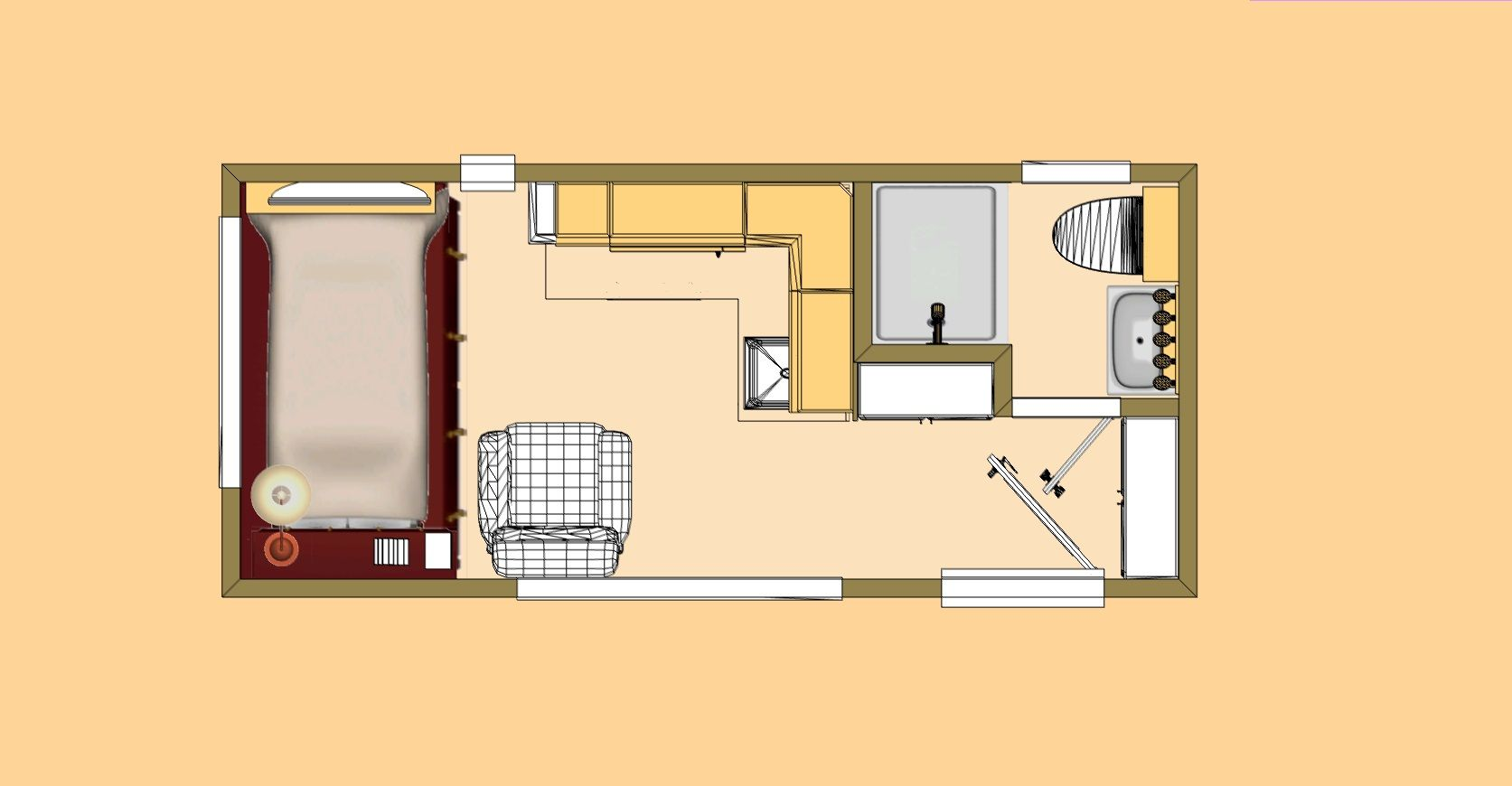 Cozy Home Plans Shed To Tiny House House Plans Cozy House