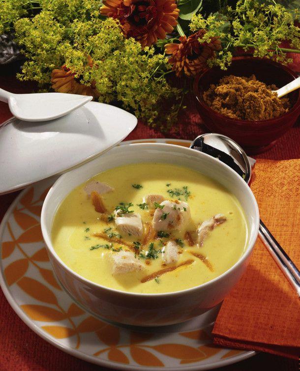 Unser beliebtes Rezept für Geflügel-Curry-Suppe und mehr als 55.000 weitere kostenlose Rezepte auf LECKER.de.