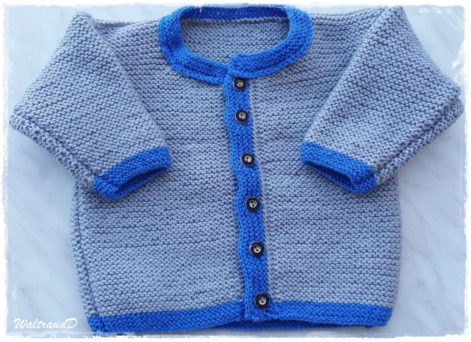 Babyjacke 74 stricken