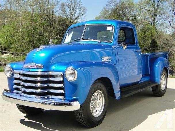 1950 Chevrolet 3600 Pick Up Classic Chevy Trucks Chevy Trucks