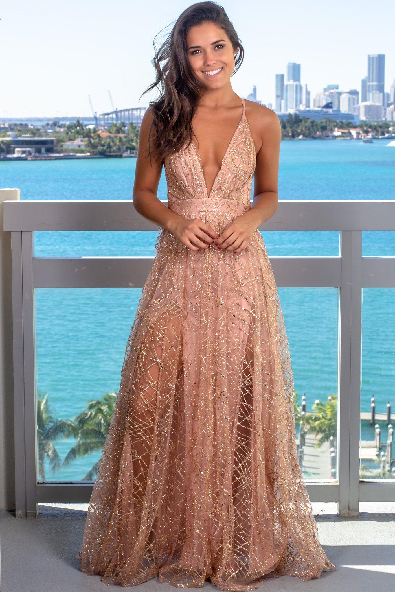 45++ Rose gold maxi dress ideas in 2021