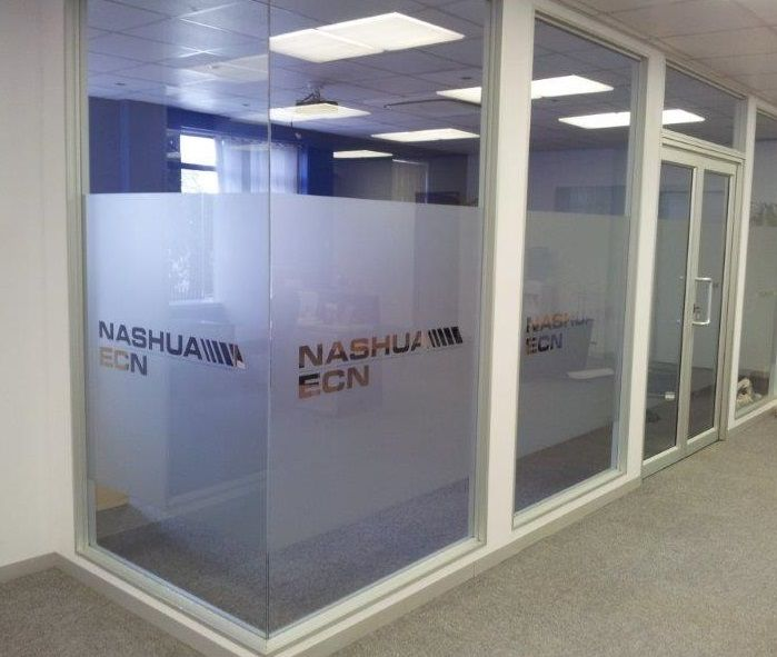 Choose Glass For Office Partitioning As Company Branding Can Be Put On The  Glass.