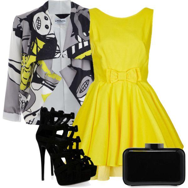 Top Shop dress, Giuseppe shoes