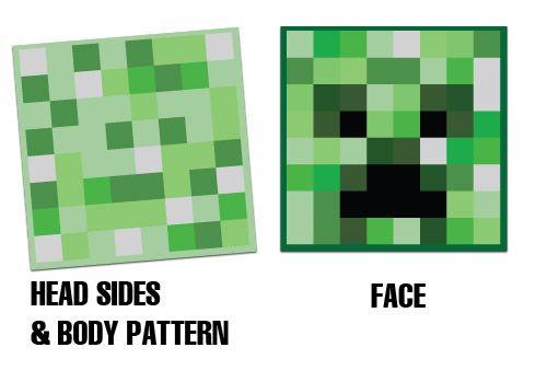 Minecraft Costume Printable