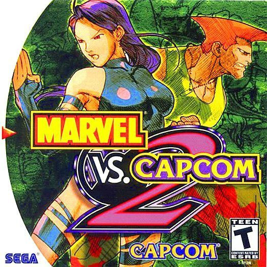 Marvel Vs Capcom 2 Sega Dreamcast 2000 Sega Pinterest