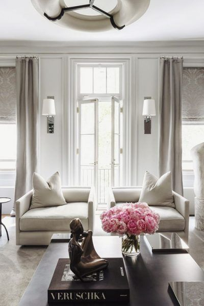At home with ryan korban upper east side manhattan this is glamorous also how to define your decor style shades of white rh pinterest