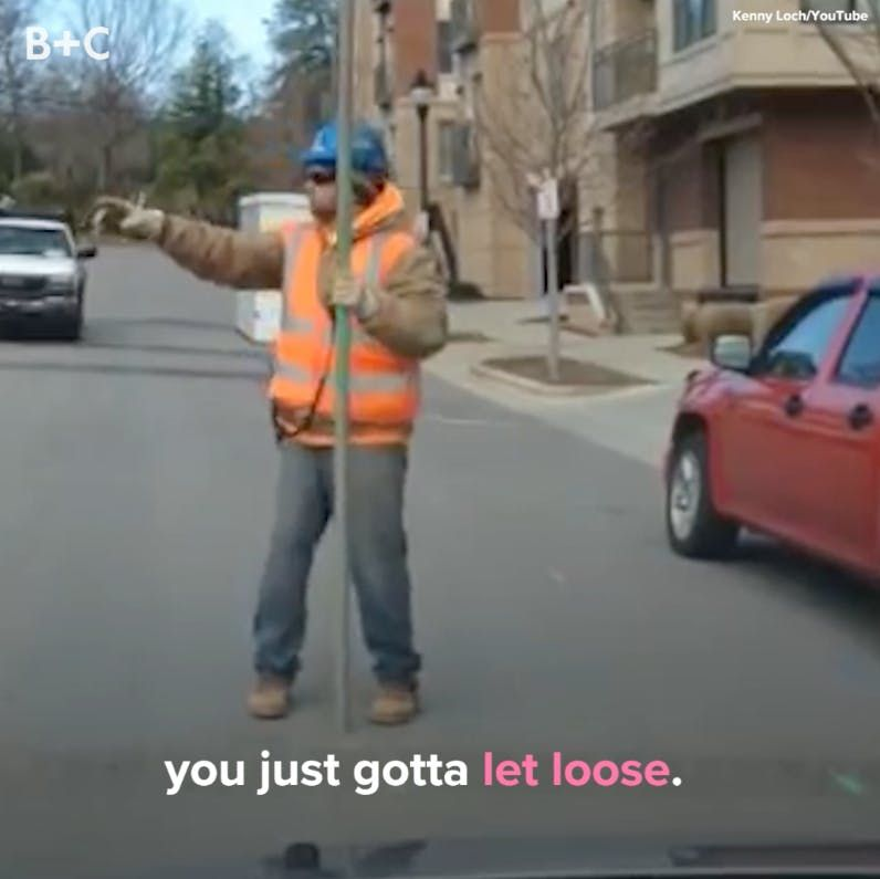 Best Funny People People Dancing on the Job Will Brighten Your Day Everybody dance NOW.