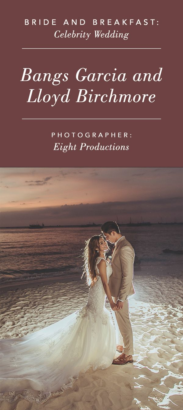 Check Out Bangs Garcia and Lloyd Birchmore's Baby Blue and Blush Wedding in Boracay | http://brideandbreakfast.ph/2017/02/03/bangs-garcia-lloyd-birchmore-boracay-wedding/