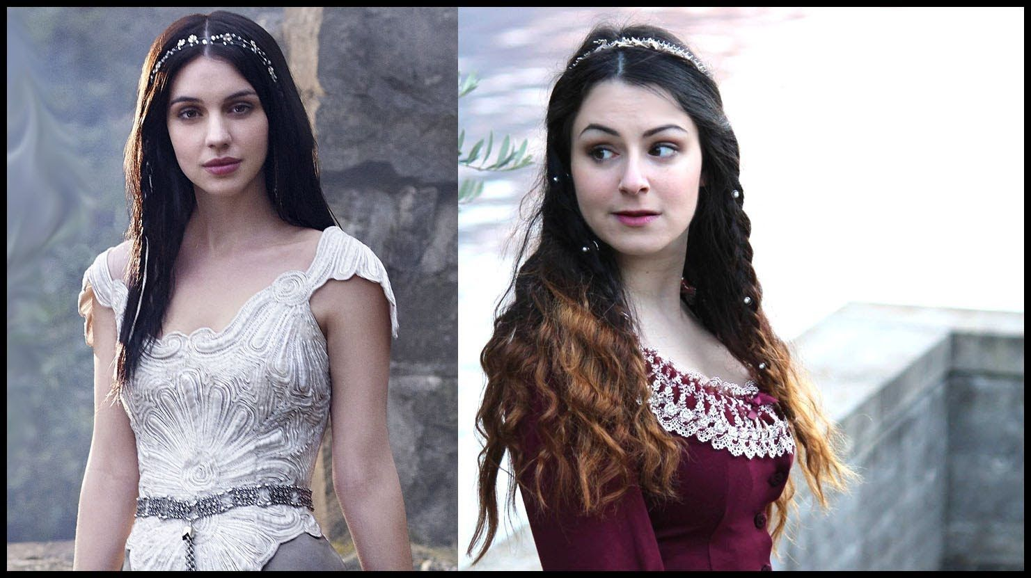 Mary Stuart {Reign} inspired makeup, hair and outfit ♡ Beauty and the Se...