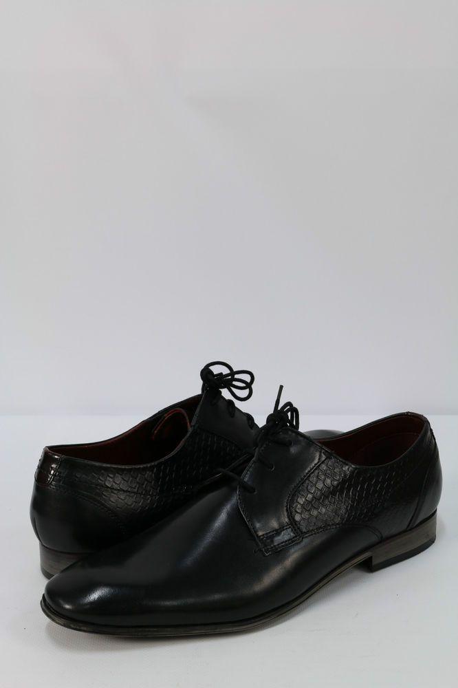 b1dc18b0b2753 BUGATTI Men s Formal Shoes Black Leather Footwear | Férficipők Bugatti