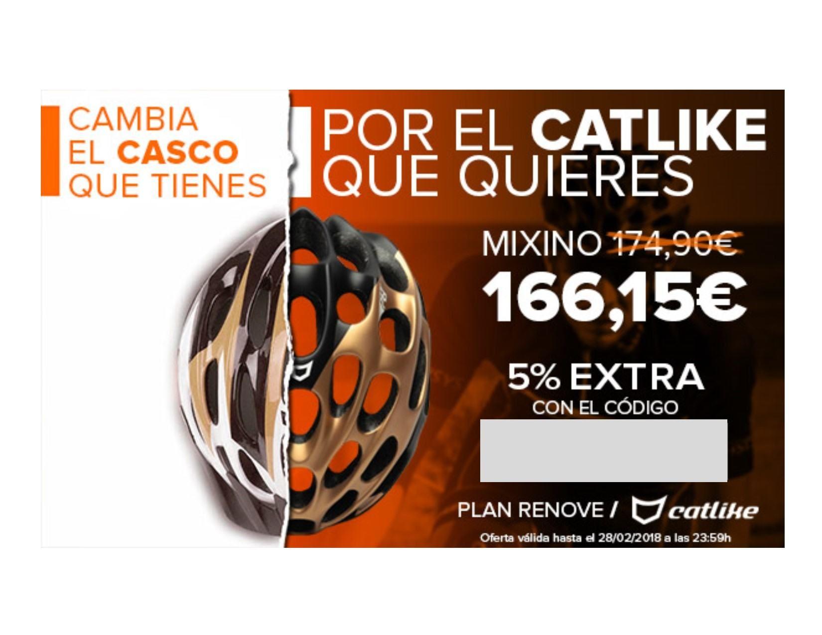 efaa88f150 En Retto puedes encontrar el casco carretera Catlike Mixino con descuento  del 22%. Además