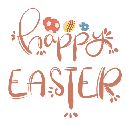 Happy Easter Inscription With Eggs Png Transparent Image Instant Download Upcrafts Design In 2021 Easter Fonts Easter Graphics Happy Christmas Greetings