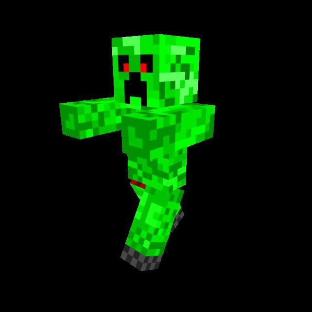 Creeper Downloadable Minecraft Skin Minecraft Skins Creeper Minecraft Skin Green Characters