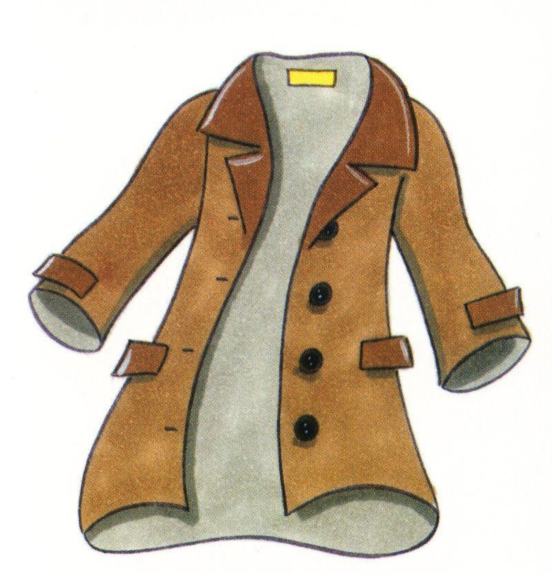 Пальто картинка нарисованная