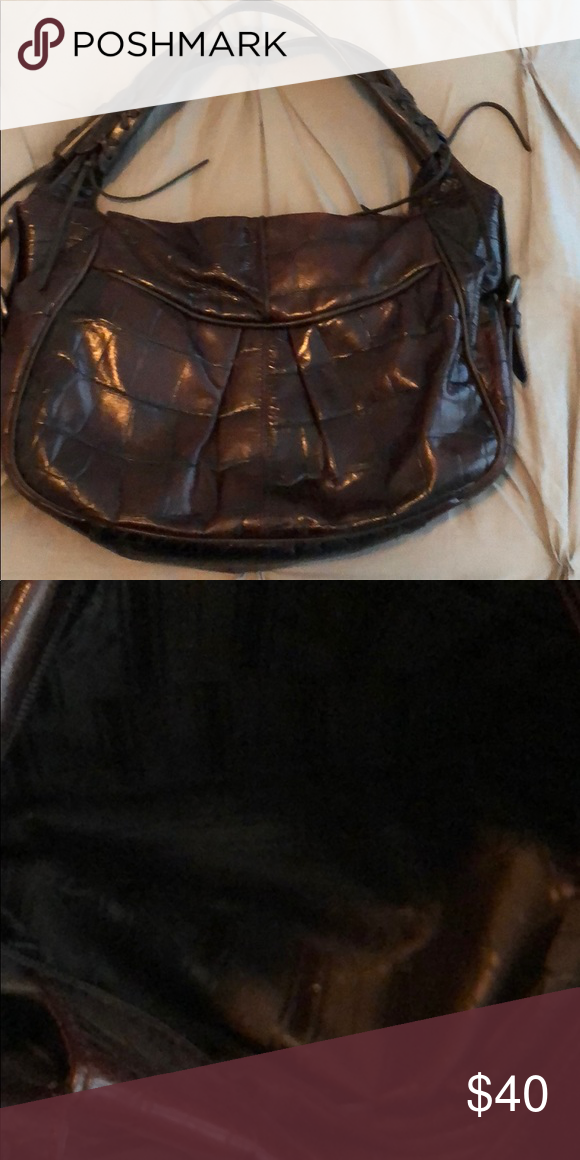 2b2580947d Paid  150 for it new. Beautiful rich chocolate brown color. Purchased in  Italy. Francesco Biasia Bags Shoulder Bags