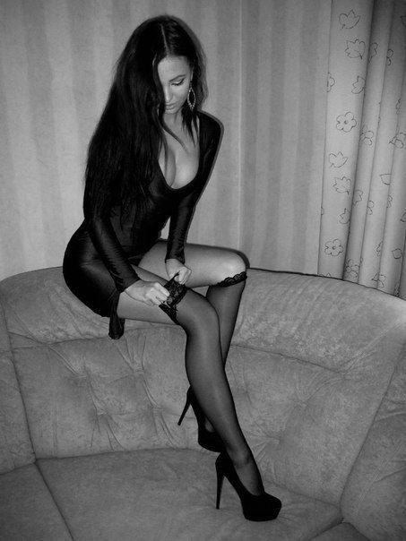 Sexy čierna GF