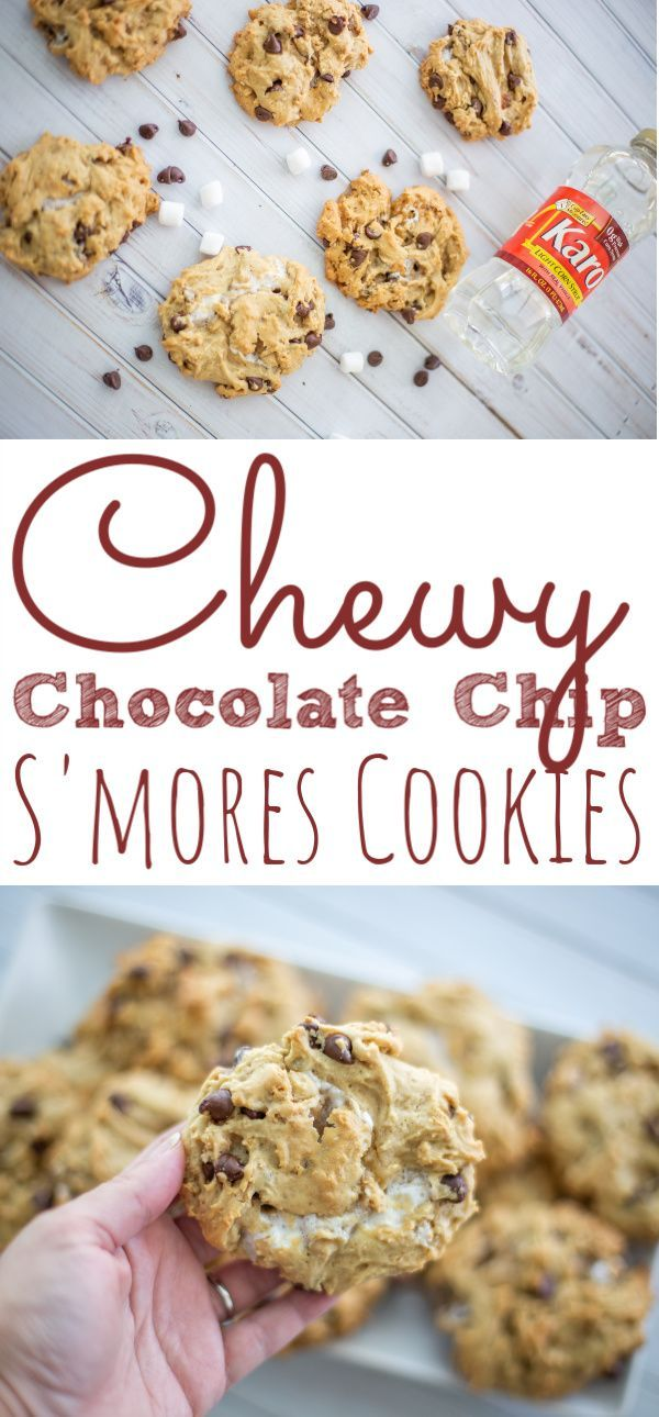 The best Chocolate Chip Chewy Smores Cookies are soft sweet and simple to make These smores cookies are easy and perfect for the holiday season Create this Chocolate Chip...