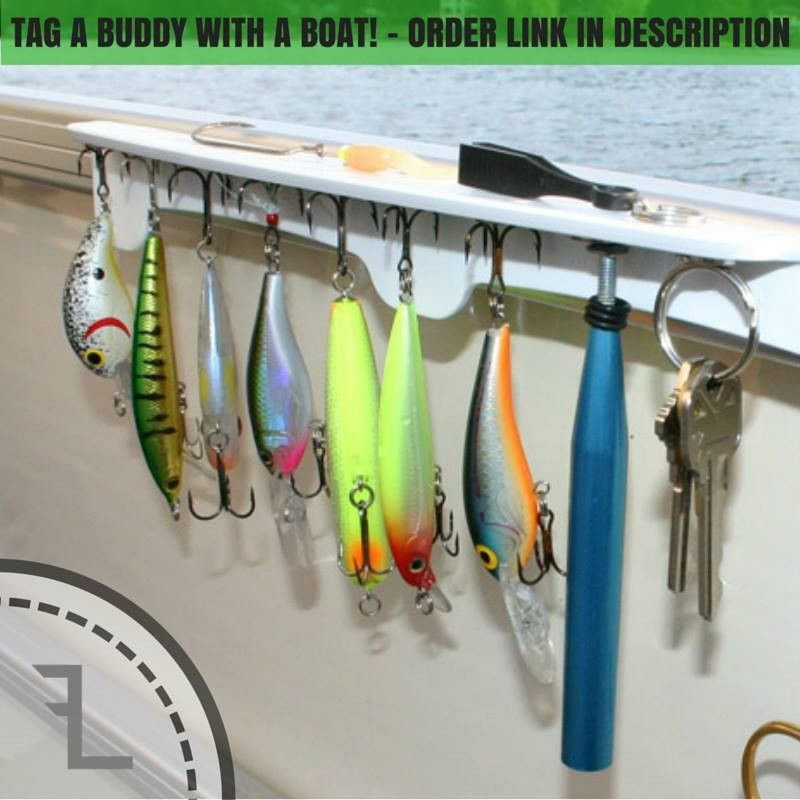 Easy Mount Suction Cup Lure Rack
