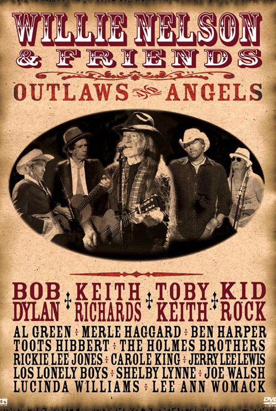 Willie Nelson - Outlaws and Angels - on Qello