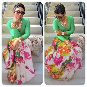 Love this style @Mimi G. Style  floral print