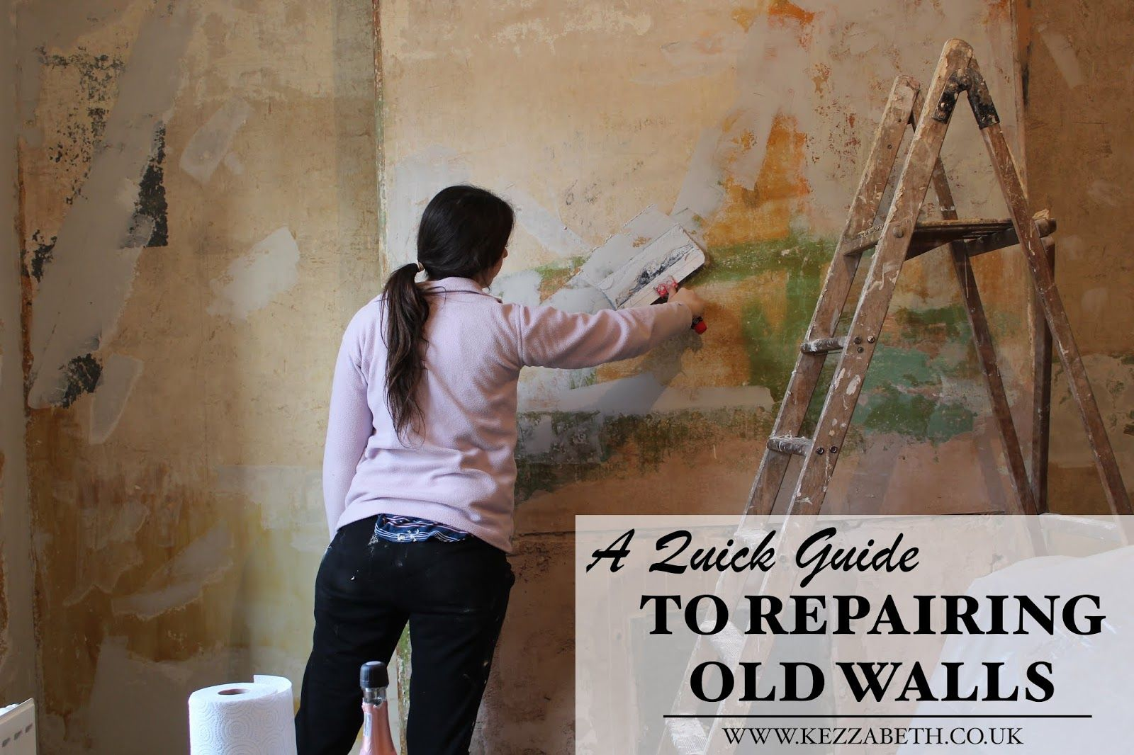 how to skim coat a wall after removing wallpaper