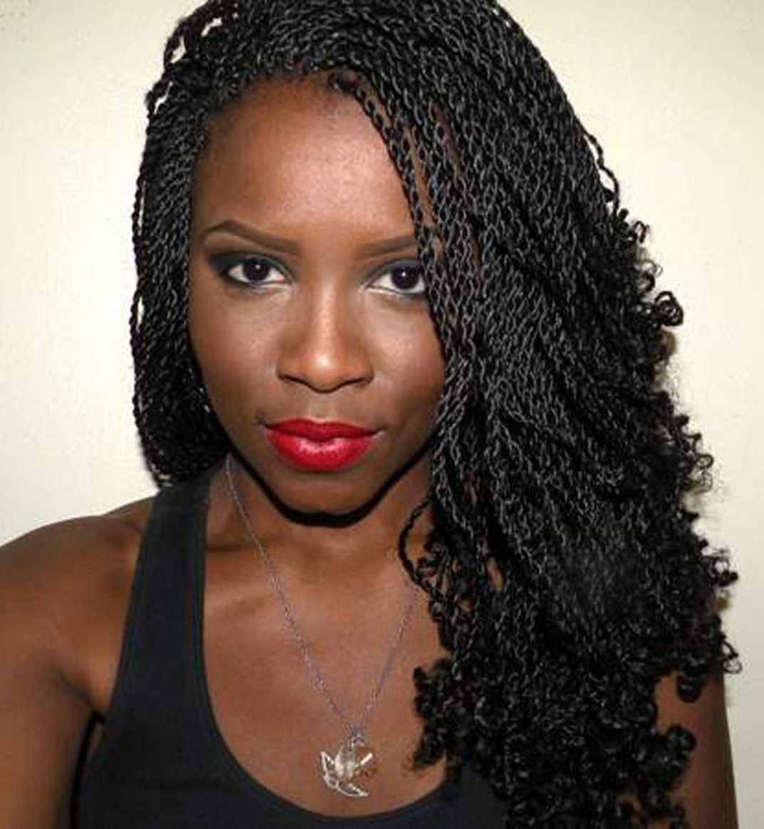 braided hairstyles for black women | awesome under braid