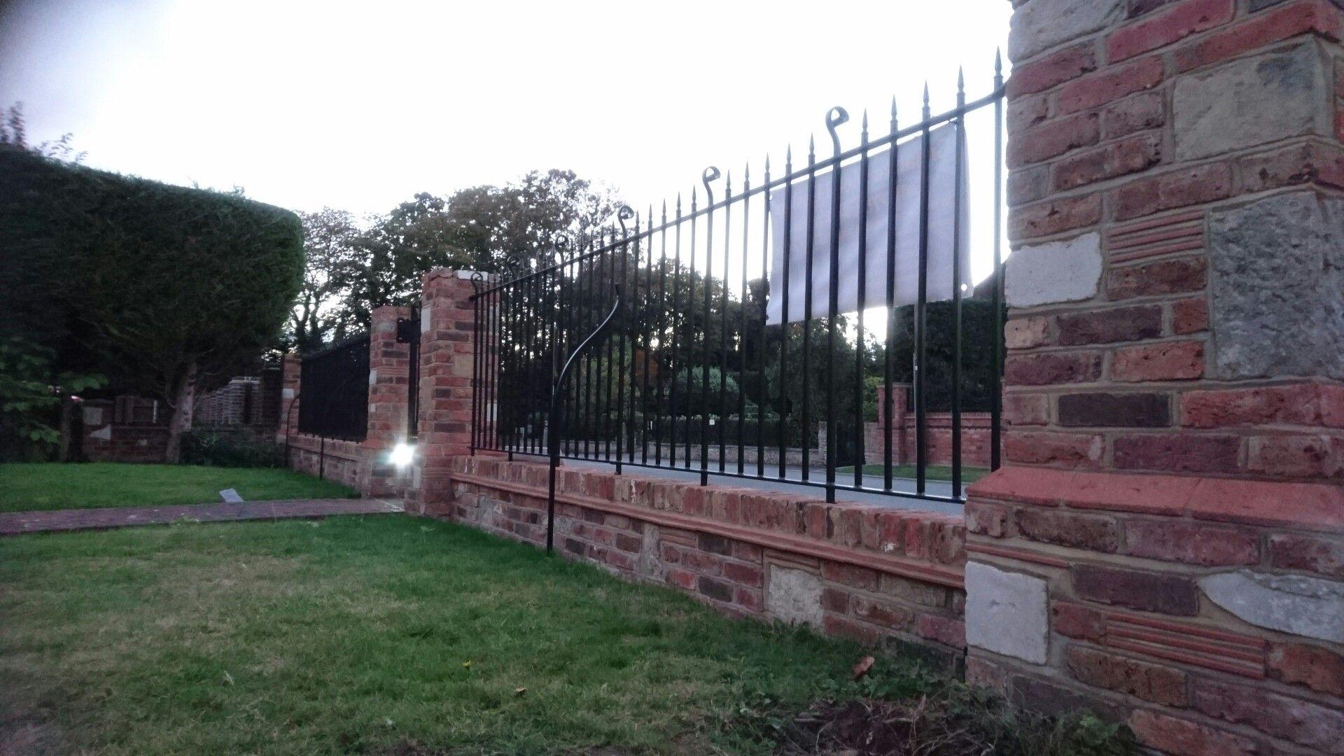 Bespoke wrought iron railings in Chislehurst by Creative ...
