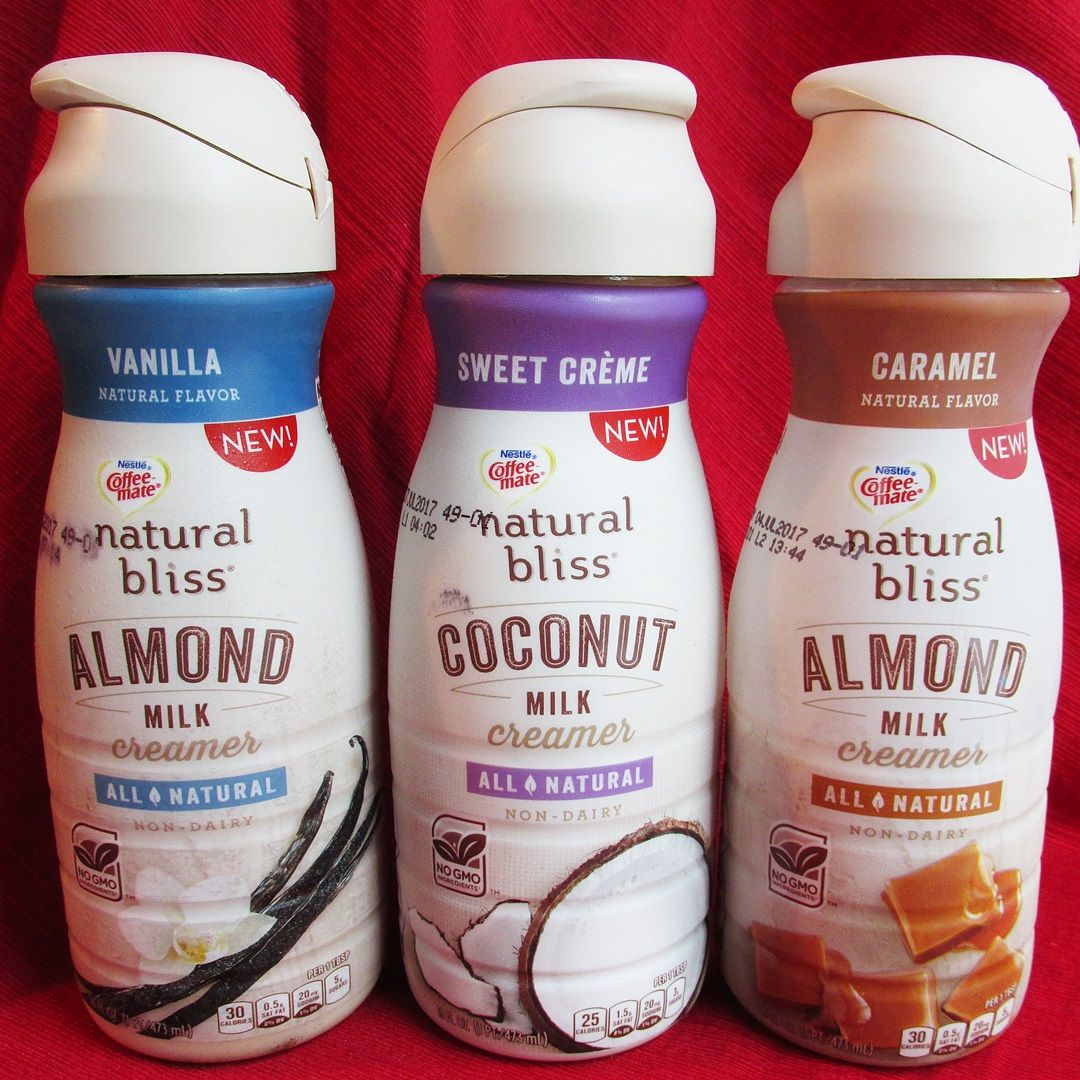 Natural Bliss NonDairy Creamers (Review) Almond and