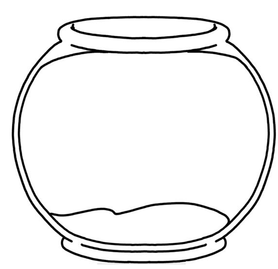 Blank Fishbowl Placemat Dr Seuss Crafts Dr Seuss Preschool Seuss Crafts