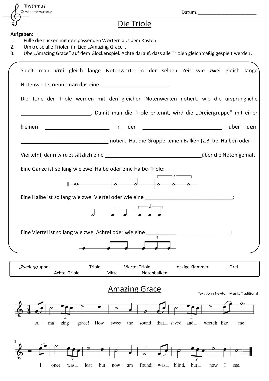 Luckentext Material Zum Thema Johann Sebastian Bach Unterricht Schule