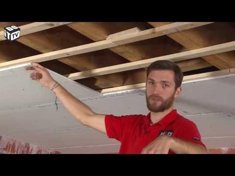 Isoler Facilement La Sous Toiture Avec Des Panneaux De Polystyrene Bricolage Avec Robert Youtube Plafond Isolation Plafond Pose De Lambris Pvc