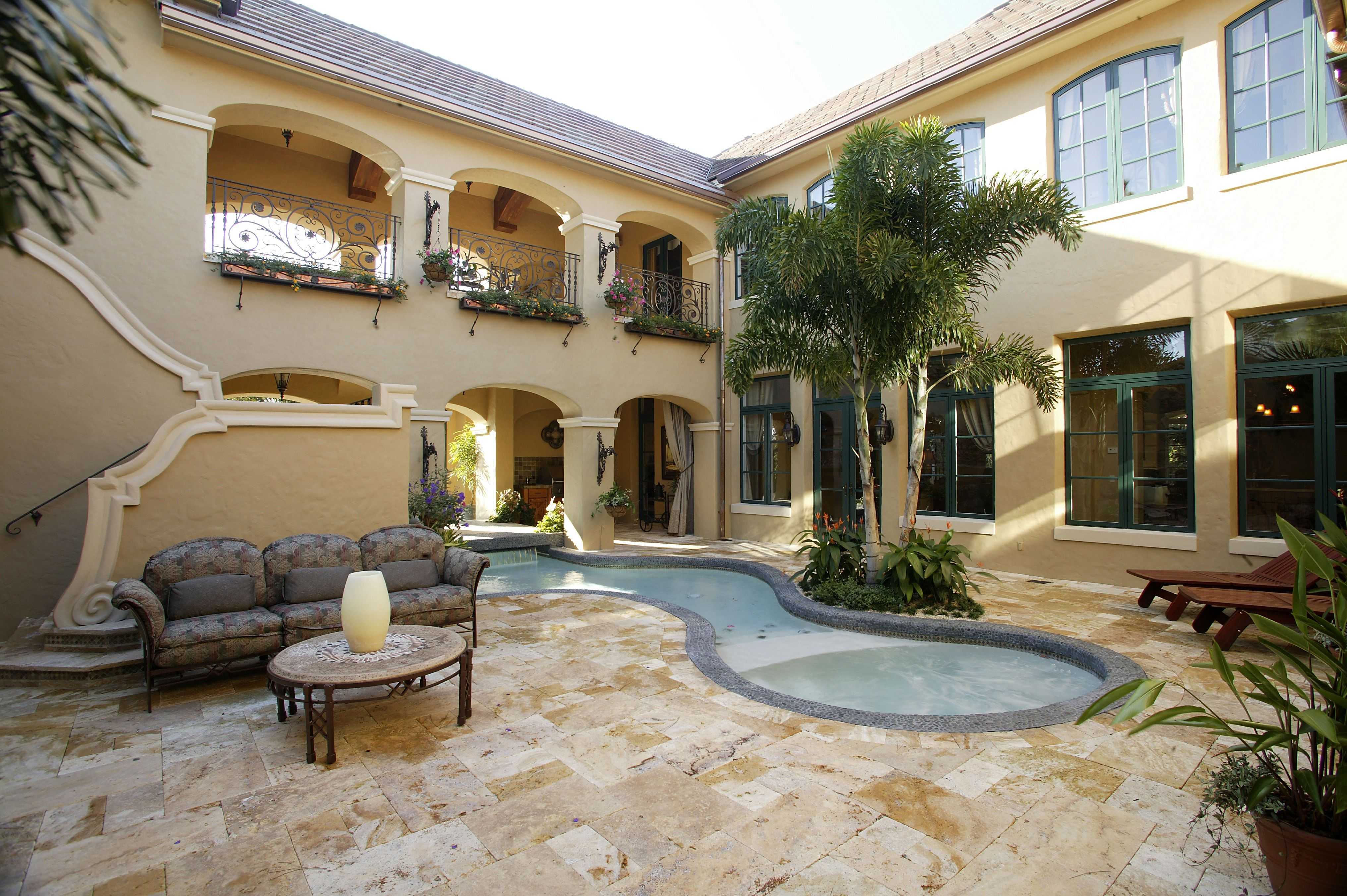 One Of The Largest Patios We Have Seen With A