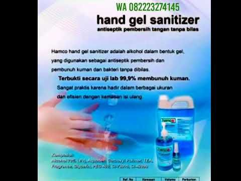Grosir Hamco Hand Gel Sanitizer Agen Distributor Antiseptik