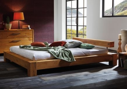 Bett Neptun Wildeiche Wohnen Pinterest - dream massivholzbett ign design
